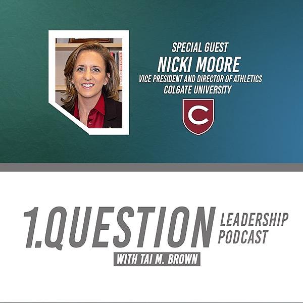 Dr. Nicki Moore | VP & Director of Athletics | Colgate