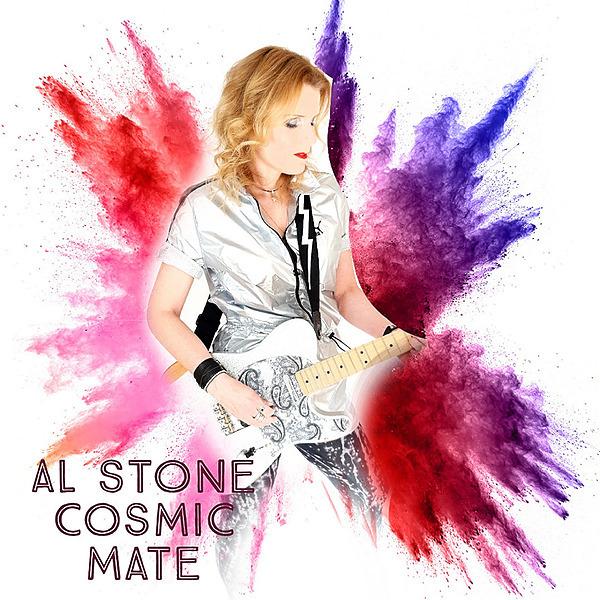 "Al Stone ""Cosmic Mate"" New Single Link Thumbnail | Linktree"