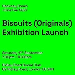 Jenny Robins Biscuits (Originals) Exhibition Launch Party Link Thumbnail | Linktree
