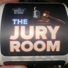 The Jury Room Podcast The Jury Room stickers!  Link Thumbnail | Linktree