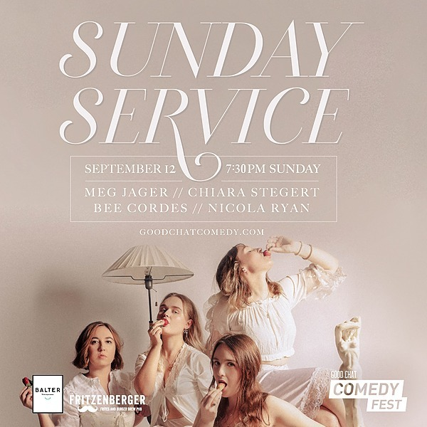 @goodchatcomedy Get tickets to Sunday Service [Sept 12] Link Thumbnail | Linktree