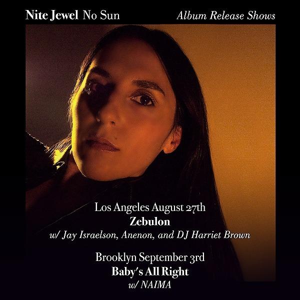 @Nitejewel Nite Jewel Live at Zebulon Los Angeles Tickets Link Thumbnail | Linktree