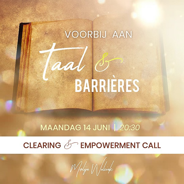 @merlijnwolsinknl Voorbij aan Taal & Barrières Clearing & Empowerment Call -  Link Thumbnail | Linktree