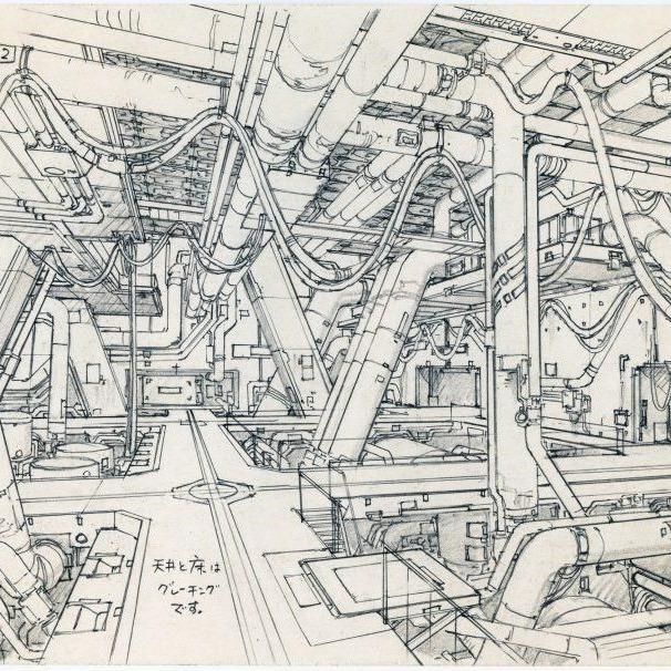 Anime Architecture Art Loft Video