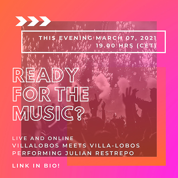 @KARAK_ARTLAB Villalobos meets Villa-Lobos Youtube Concert Link Thumbnail   Linktree
