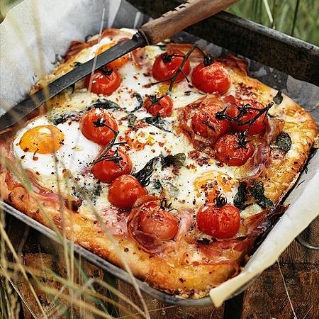 @donnahaymagazine egg, pancetta and gruyere breakfast bread Link Thumbnail   Linktree