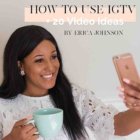 How To Use IGTV + 20 Video Ideas