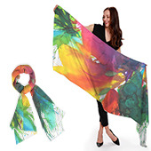 #painting #fashion 🎨 Women Cashmere-Silk scarves