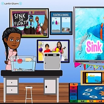 @WinterStorm Sink or Float Science Experiment Link Thumbnail   Linktree