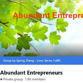 @springzhengabundance [Facebook Group] Abundant Entrepreneurs Link Thumbnail   Linktree