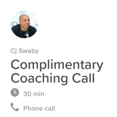 BOOK A COACHING CALL WITH ME