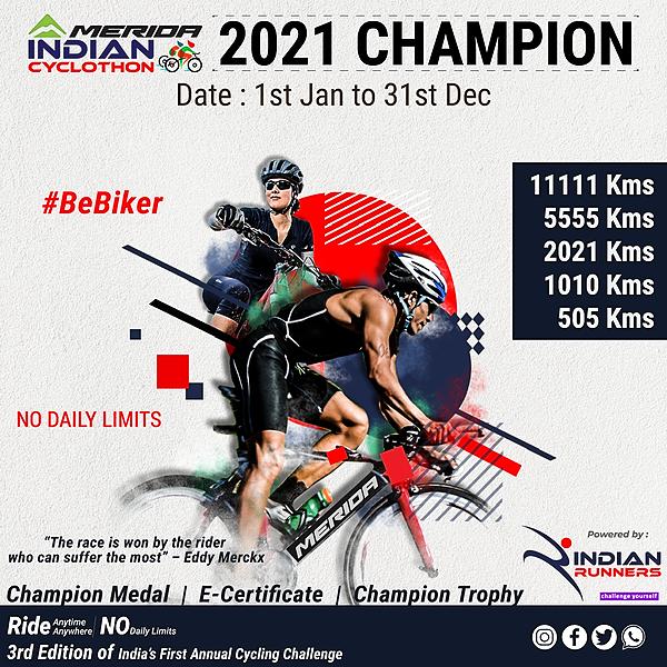 2021 Champion of Cycling