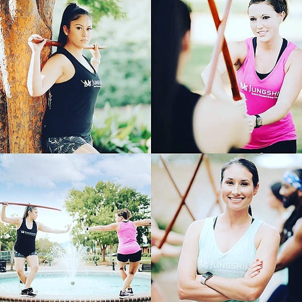 @JungshinFitness Updated on-line and in-person sword fitness, moving meditation classes Link Thumbnail   Linktree