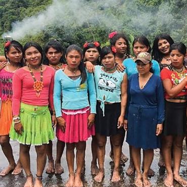 DONATE: Colombia's Indigenous Trans Embera Women