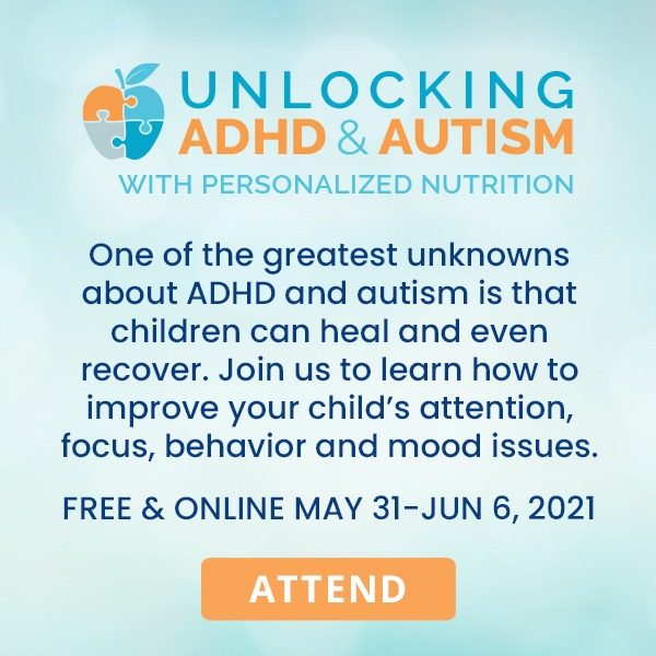 Real | Unique | Magical Unlocking ADHD & Autism with Personalized Nutrition Link Thumbnail | Linktree
