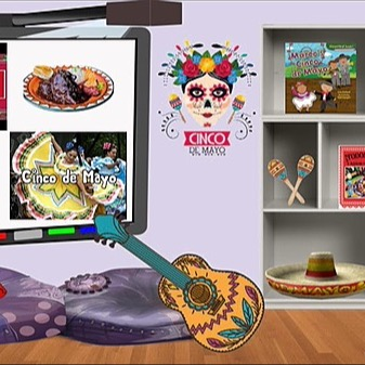 @RebeccaAllgeier Cinco de Mayo Link Thumbnail | Linktree