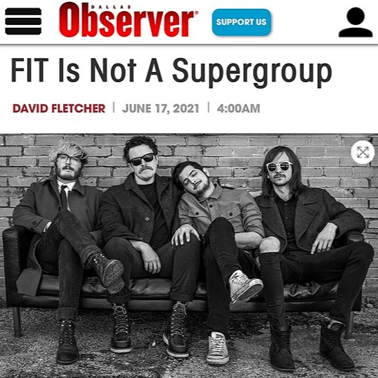 @fittheband Dallas Observer Interview Link Thumbnail | Linktree