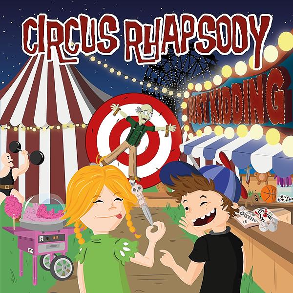Circus Rhapsody New Album on Bandcamp Link Thumbnail | Linktree