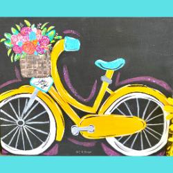 Spring Bike Tracer