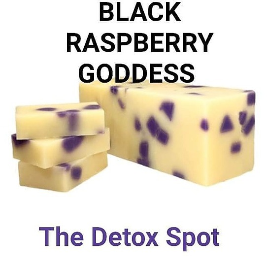 Black Raspberry All natural soap Wholesale