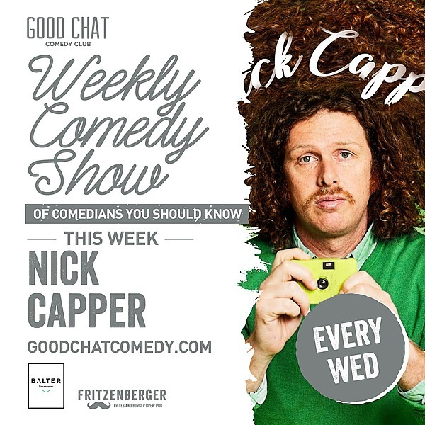Get tickets to Wednesday Jan 20th w/ MC Nick Capper