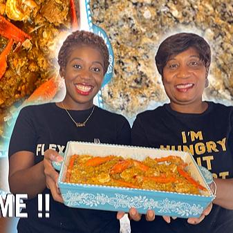 Haitian Seafood Legume