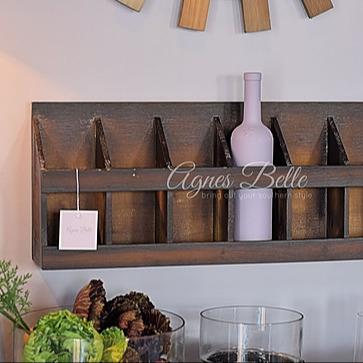 Wood Wine Holder