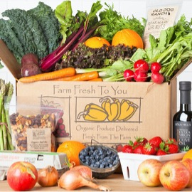 Farm Fresh to You gives 10% back to Birney!