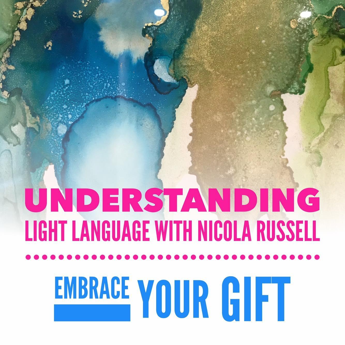 Nicola Russell Quantum Healer Understanding Light Language Course Link Thumbnail | Linktree