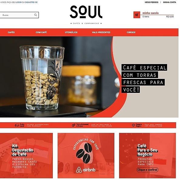 Soul Cafés & Companhias ® Site Link Thumbnail   Linktree