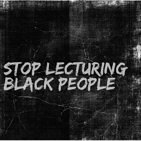 @afrolez Stop Lecturing Black People Link Thumbnail | Linktree