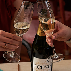 Cheers with Cense Sparkling Brut
