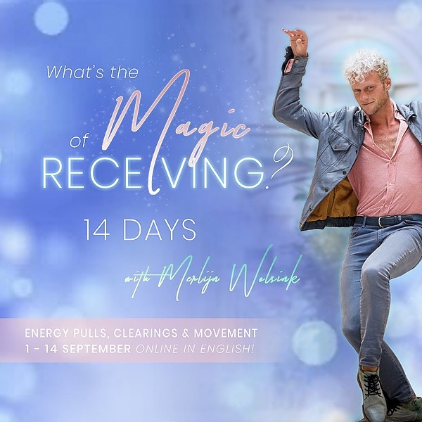 @merlijnwolsinknl Free Call - What's the Magic of Receiving? 10 sept Link Thumbnail | Linktree