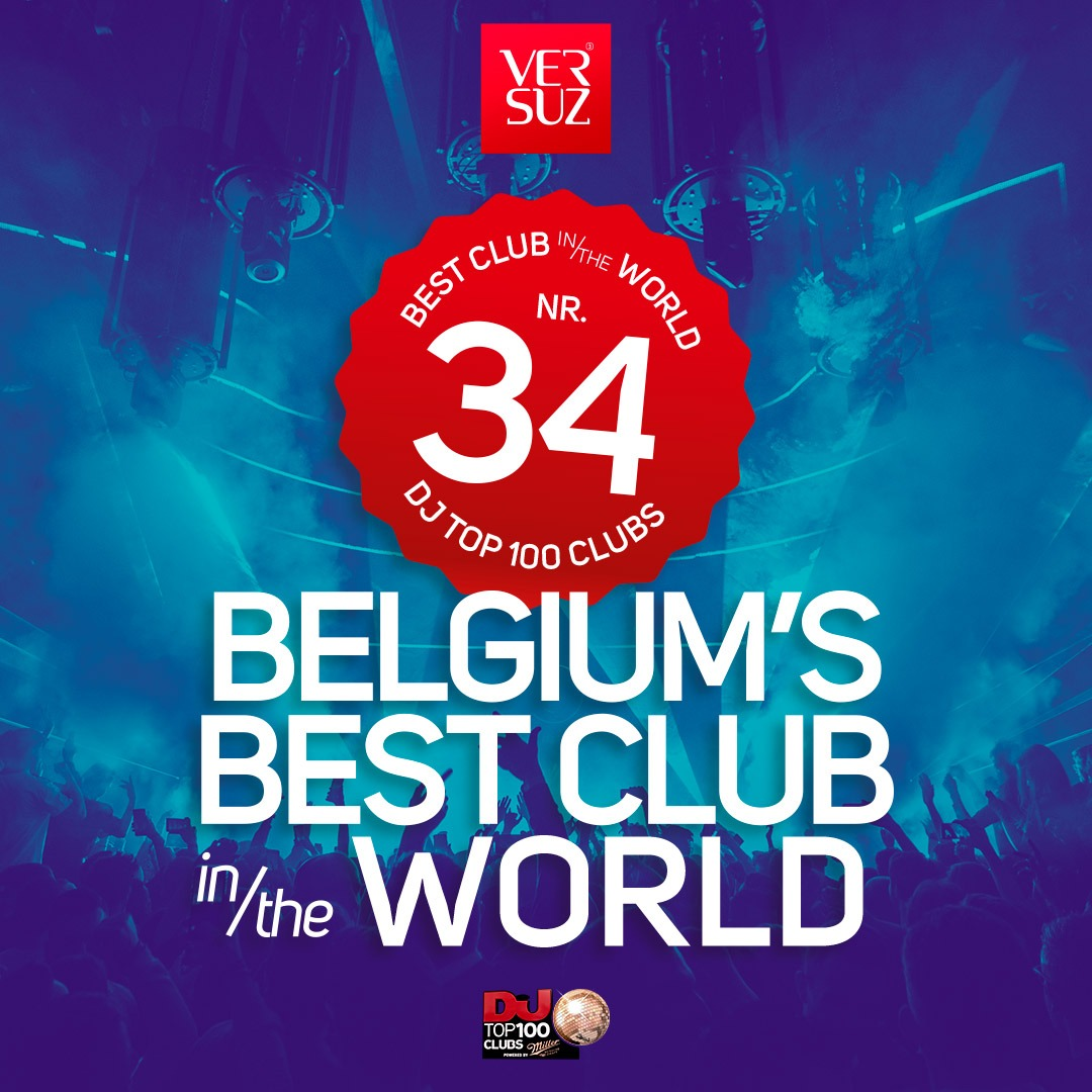 www.versuz.be Versuz reaches #34 in DJmag Top 100clubs Link Thumbnail | Linktree