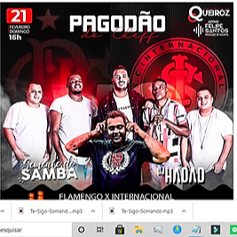 FLYER / DJ HADAD  E SEMENTE DO SAMBA