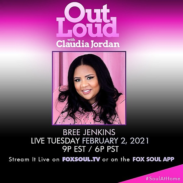 Fox Soul: Out Loud With Claudia Jordan TV show