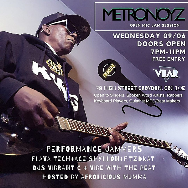 Metronoyz Open Mic Jam Session