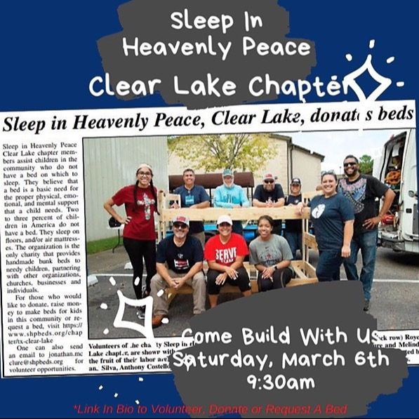 On The Geaux™ ⚜️ Volunteer or Donate to SHP Clear Lake Link Thumbnail   Linktree