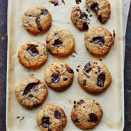 @donnahaymagazine choc-chunk tahini cookies Link Thumbnail   Linktree