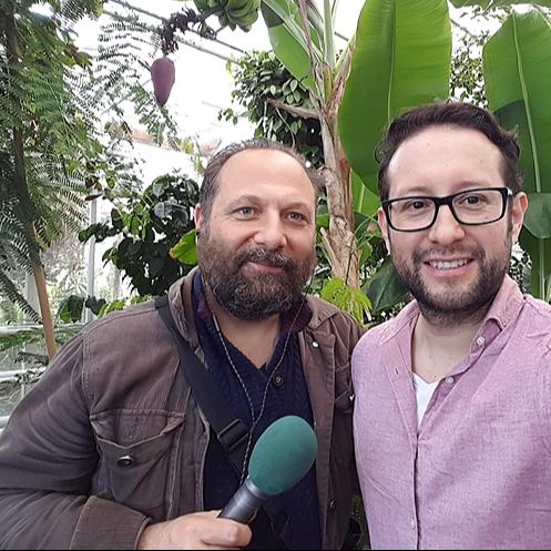Interview for the BBC radio (Dan Saladino)