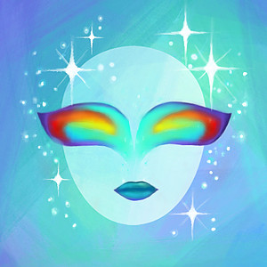 Instagram Filter: Rainbow Eyes
