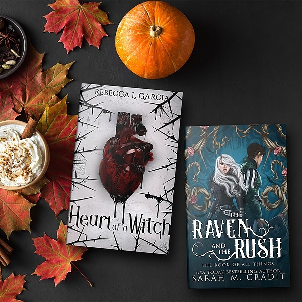 Author Sarah M. Cradit Until 10/26: Joint Fantasy Book Box (The Raven and the Rush and Heart of a Witch)- Limit 100 Link Thumbnail | Linktree