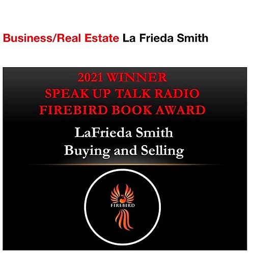 @AuthorLaFrieda Firebird Book Award Winner 2021 Link Thumbnail | Linktree