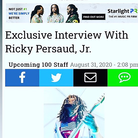 @Mystiqsonre Upcoming 100 Exclusive Interview with Ricky Persaud, Jr. Link Thumbnail | Linktree