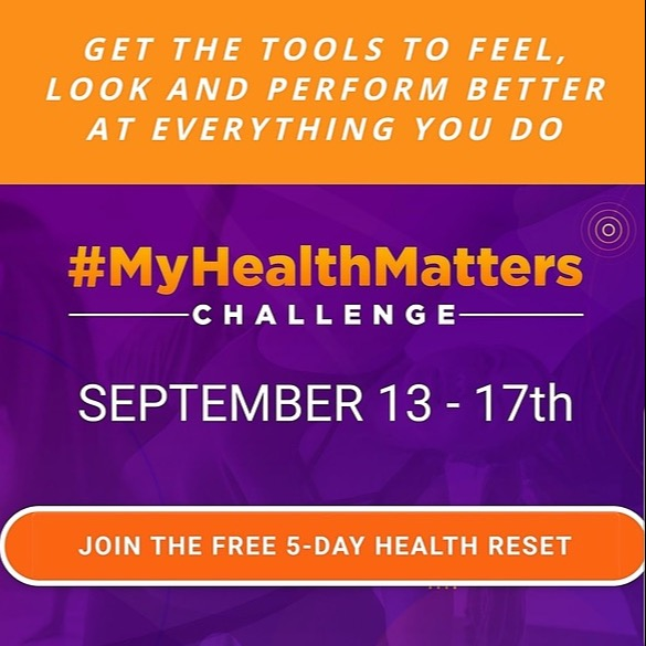 LIVE FREE AND HEALTHY My HEALTH MATTERS Challenge Link Thumbnail | Linktree