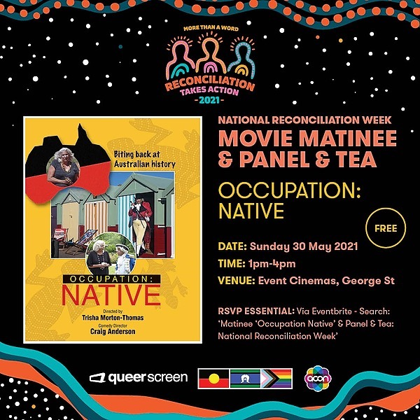 @ACONhealth Matinee 'Occupation Native' & Panel Event Link Thumbnail   Linktree