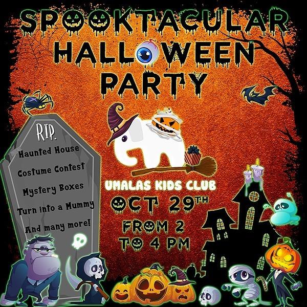 Umalas Kids Club UKC Halloween Sign-up Form Link Thumbnail | Linktree