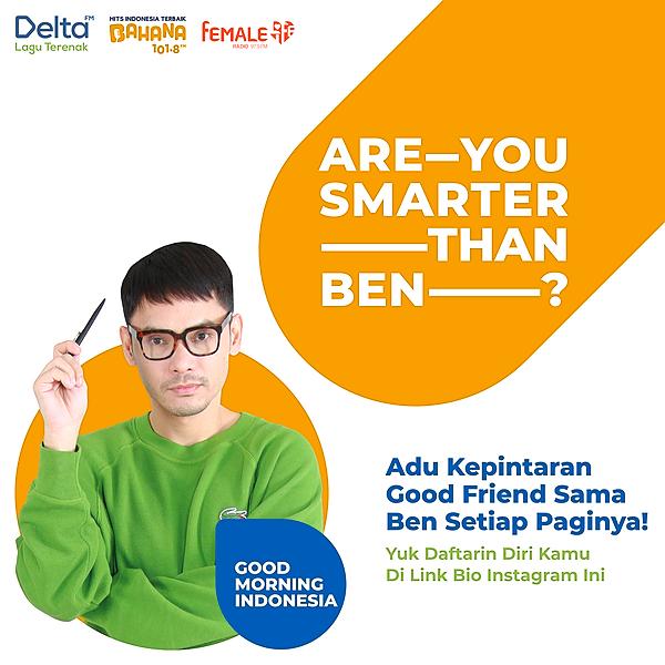 @femaleradio Are You Smarter Than Ben? Link Thumbnail | Linktree