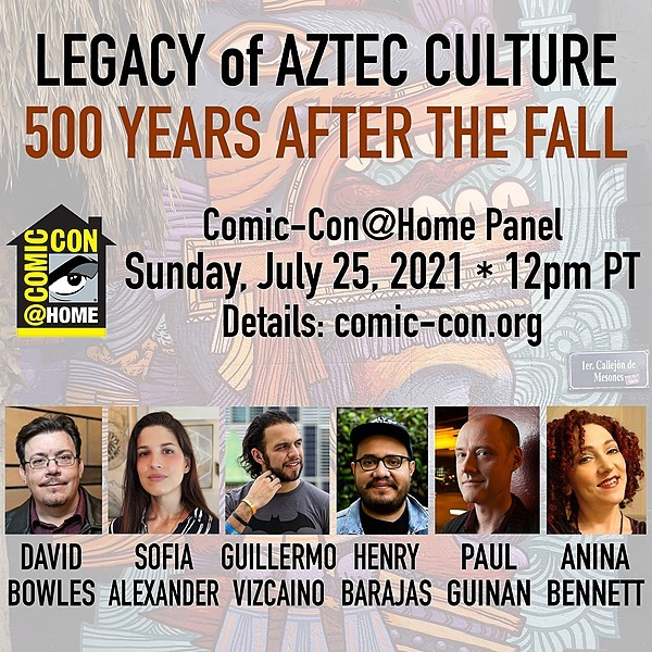 @bigredhair VIDEO - 2021 Comic-Con panel: Legacy of Aztec Culture Link Thumbnail | Linktree