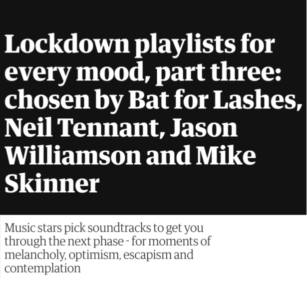 """Neil Tennant's """"Pastoral"""" playlist for The Observer"""